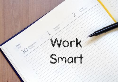 Work smart bedeutet, Wichtiges zuerst - Zeitmanagement - Arbeitstechniken - Arbeitsmethoden - Selbstmanagement - E-Mail-Management - Outlook-Coaching - Zeitmanagement Methoden - Zeitmanagement Seminar - Coaching